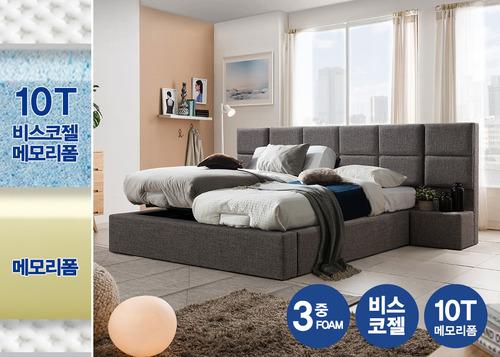 유닉 드림모션 패브릭 전동침대 TWIN트윈(10T 비스코젤 메모리폼 ...